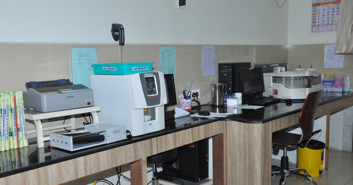 Sundaram Healthcare Centre, Sholinghur - Clinical Laboratory